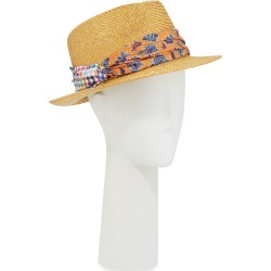 Men's Straw Fedora Hat with Silk Band found on Bargain Bro Philippines from Bergdorf Goodman for $430.00