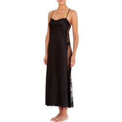 Darling Lace-Inset Satin Gown found on MODAPINS from Bergdorf Goodman for USD $142.00