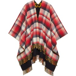 Men's Reversible GG Tartan Poncho found on MODAPINS from Bergdorf Goodman for USD $1200.00