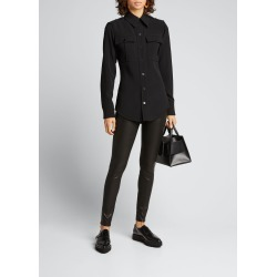 Le Skinny Leather Pants found on Bargain Bro Philippines from Bergdorf Goodman for $950.00