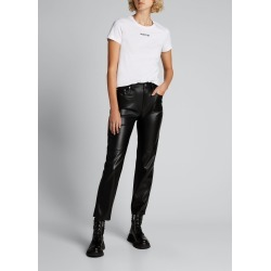 Cotton Short-Sleeve Logo Text Top found on Bargain Bro India from Bergdorf Goodman for $255.00