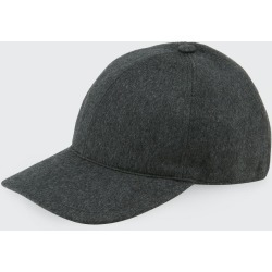 Men's Solid Cashmere Baseball Cap found on Bargain Bro India from Bergdorf Goodman for $195.00