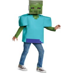 Minecraft Classic Zombie Costume For Kids found on Bargain Bro India from Birthday in a Box for $26.99