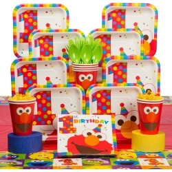 Elmo's 1st Birthday Party Supplies