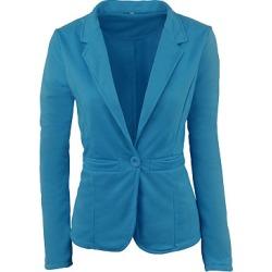 Berrylook Notch Lapel Plain Blazer shop shoppers stop plain Blazers girls blazer fitted blazer womens