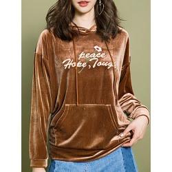 Berrylook Casual Printed Long Sleeve Hoodie clothes shopping near me, sale, printed Hoodies, mens sweatshirts, sweatshirt