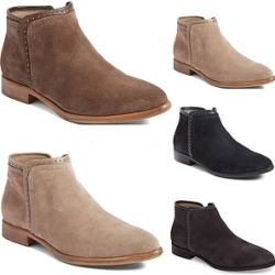 Berrylook Plain Flat Velvet Round Toe Outdoor Ankle Boots clothing stores, clothes shopping near me,