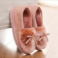 Berrylook Plain Flat Velvet Round Toe Casual Ankle Flat Boots clothing stores, clothes shopping near me,