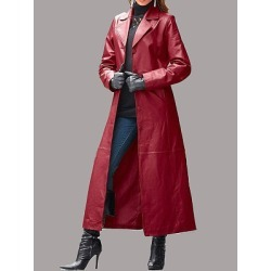 Berrylook Leather Coat Long Coat online stores, sale, green blazer womens, fall jackets found on Bargain Bro from Berrylook for USD $29.60