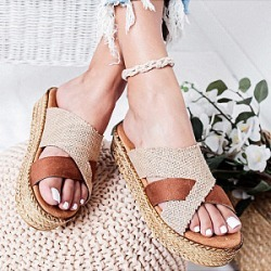 Berrylook Platform Platform Heel Open Toe Slippers clothing stores, clothes shopping near me,