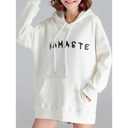 Berrylook Casual Printed Long Sleeve Hoodie clothing stores, online sale, printed Hoodies, cool hoodies, sweater hoodie