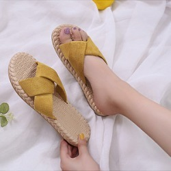 Berrylook Wild simple cross women's sandals clothing stores, clothes shopping near me,