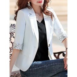 Berrylook 3/4 sleeve suit Blazer shoppers stop, cheap online shopping sites, Long Blazers, blazers for women, black blazer