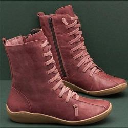 Berrylook Casual Women Short Tube Plain Flat Boots clothes shopping near me, cheap online shopping sites,