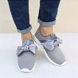 Berrylook Plain Flat Round Toe Casual Sneakers clothing stores, clothes shopping near me, Plain Sneakers,