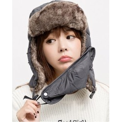 Lady Korea Style Fashion Warm Thick Knitted Hats For Winter