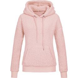 Berrylook Casual Plain Long Sleeve Hoodie online sale, fashion store, plain Hoodies, cool hoodies, white hoodie