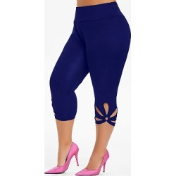 Berrylook Solid color cutout plus size sports yoga leggings clothing stores, online stores, best leggings, high waisted leggings
