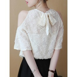 Berrylook Round Neck Plain Sleeveless Blouse online sale, online, Solid Blouses, summer tops for women, off the shoulder tops