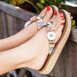 Berrylook Fashion casual non-slip flip-flops shop, shoppers stop, splice Sandals,