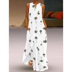 Berrylook V Neck Print Maxi Dress online sale, sale, Oversized Maxi Dresses, long sleeve dress, black dresses for women