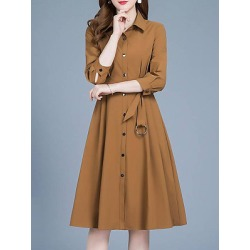 Berrylook Windbreaker section women temperament autumn coat trend shoppers stop, clothes shopping near me, Solid Trench Coats, found on Bargain Bro India from Berrylook for $29.95