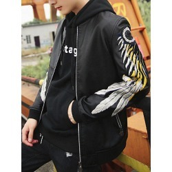 Berrylook Band Collar Embroidery PU Leather Men Bomber Jacket stores and shops, cheap online stores, Embroidery Men Jackets,