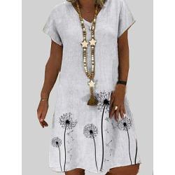 Berrylook V Neck Plain Shift Dress shoppers stop, online shopping sites, shift dress pattern, shirt dress found on MODAPINS from Berrylook for USD $21.95