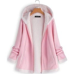 Berrylook Hooded Plain Coat stores and shops, online sale, plain Coats, warm jackets for women, warm coats for women