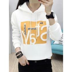 Berrylook Fashion Printed Long Sleeve Hoodie online sale, shoppers stop, Long Hoodies, cool sweatshirts, sweatshirt