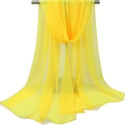 Gauze Plain Thin Scarves
