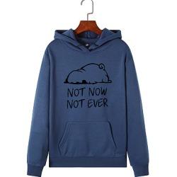 Berrylook Casual Printed Long Sleeve Hoodie stores and shops, online sale, printed Hoodies, cool hoodies, hooded sweatshirt