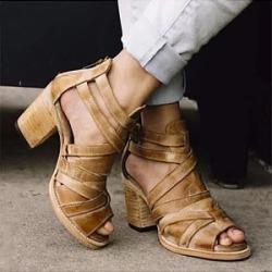 Retro fishbill women's sandals