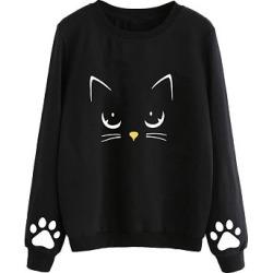 Berrylook Round Neck Animal Prints Sweatshirt online sale, online, mens sweatshirts, cool sweatshirts found on Bargain Bro India from Berrylook for $16.95