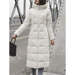 Berrylook Hooded Plain Coat clothing stores, online sale, plain Coats, womens casual jackets, cute winter coats