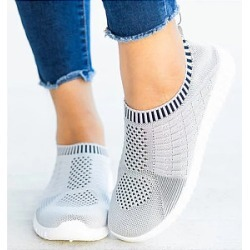 Berrylook Flat Round Toe Casual Travel Sneakers clothing stores, clothes shopping near me,