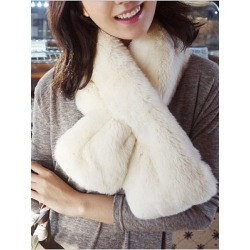 Berrylook Warm Faux Fur Fashion Scarf online sale, fashion store,