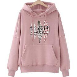 Berrylook Casual Plain Printed Shoulder Sleeve Long Sleeve Hoodie sale, online sale, plain Hoodies, hoodies, mens sweatshirts