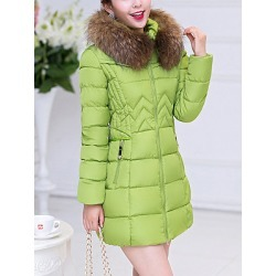 Berrylook Hooded Zipspocket Plain Quilted Padded Coat sale, online shop, cute jackets, warm coats for women