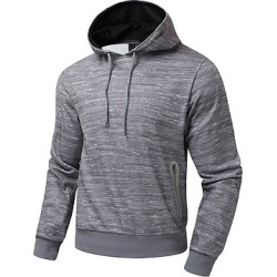 Berrylook Men Drawstring Zips Pocket Hoodie clothing stores, clothes shopping near me,
