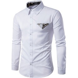Berrylook Turn Down Collar Men Printed Shirts clothing stores, clothes shopping near me, Print Men Shirts,