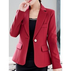 Berrylook Fashion Long Sleeve Thin Suit Blazer cheap online shopping sites, online shop, Long Blazers, white blazer women, girls blazer