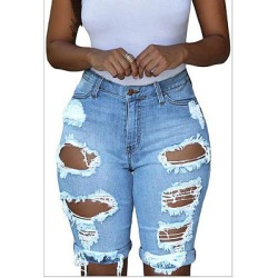 Berrylook Personalized ripped denim pants clothing stores, fashion store, best leggings, high waisted leggings