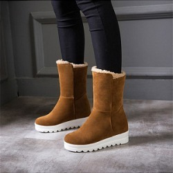 Berrylook Simple and casual high snow boots shoppers stop, online shop,