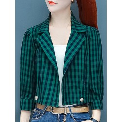 Berrylook Fashion plaid coat online, clothing stores, Long Coats, fall jackets, cute winter coats