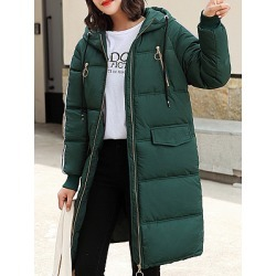 Berrylook Hooded Plain Coat clothes shopping near me online plain Coats black jacket mens coats jackets