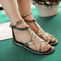 Berrylook Fashion snakeskin sandals clothing stores, clothes shopping near me,