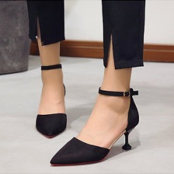 Berrylook Pointed toe stiletto heel pumps clothing stores, clothes shopping near me,