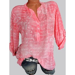 Berrylook V Neck Loose Fitting Print Blouses shoping, shop, one shoulder tops, summer tops for women found on Bargain Bro India from Berrylook for $19.95