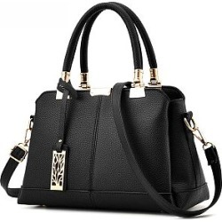 Berrylook Plain Basic Pu Handbag sale, clothing stores, Plain Shoulder Bags, found on Bargain Bro from Berrylook for USD $18.20